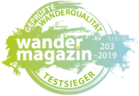 "Wandermagazin ""Test Winner"""