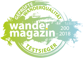 "Wandermagazin ""Test Winner"" 2018"