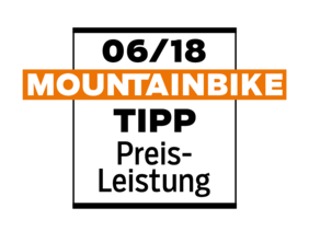 "MOUNTAINBIKE ""value for money TIP"" 06/18"