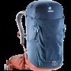 Wanderrucksack Trail Pro 32 Blau Rot