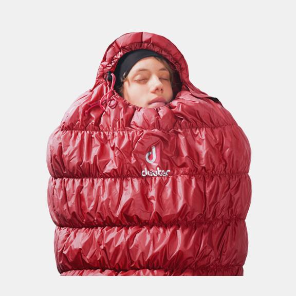 Synthetic fibre sleeping bag Exosphere -6°
