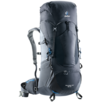 Trekking backpack Aircontact Lite 50 + 10 Black Grey