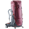 Trekking backpack Aircontact Lite 45 + 10 SL Red Grey
