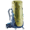 Trekking backpack Aircontact Lite 40 + 10 Green Blue