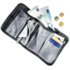 Reiseaccessoire Travel Wallet Schwarz