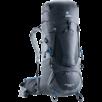Trekking backpack Aircontact Lite 40 + 10 Black Grey