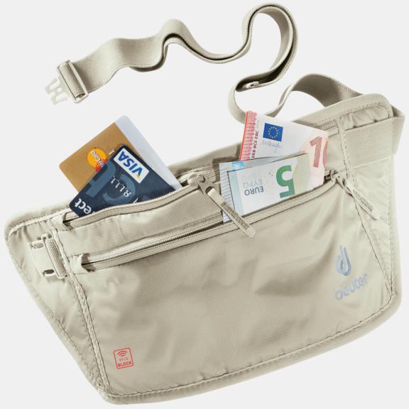 Reiseaccessoire Security Money Belt II RFID BLOCK