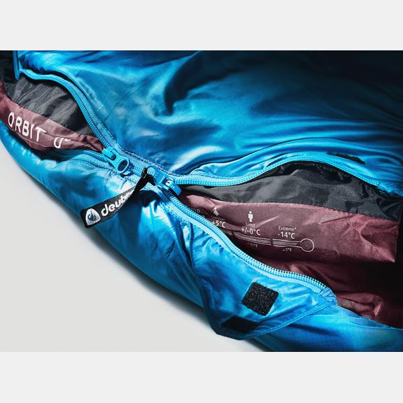 Synthetic fibre sleeping bag Orbit 0° - SL