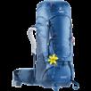 Trekkingrucksack Aircontact 40 + 10 SL Blau Blau