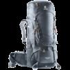 Trekking backpack Aircontact 55+10 Grey Black