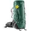 Trekking backpack Aircontact Pro 55+15 SL Green brown