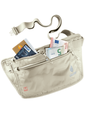 Accessori da viaggio Security Money Belt II RFID BLOCK