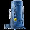 Trekkingrucksack Aircontact 60+10 SL Blau Blau