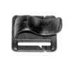 Rucksack Ersatzteile H²O Tube Clip 25 mm Schwarz