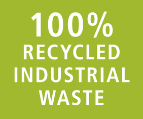 100% Recycled Industrial Waste