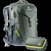 School backpack Ypsilon Set Green