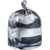 Packtasche Mesh Sack 18 Grau Schwarz
