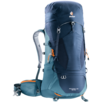 Trekking backpack Aircontact Lite 50 + 10 Blue Blue