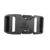 Parte di ricambio Quick Release Buckle 25 mm Nero