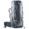 Trekkingrucksack Aircontact 55+10 Grau Schwarz
