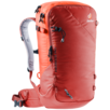 Ski tour backpack Freerider Pro 34+ Red orange