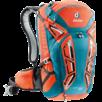 Bike backpack Attack 20 orange Turquoise