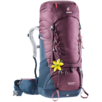 Trekkingrucksack Aircontact 50+10 SL Violett Blau