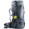 Hiking backpack Futura Vario 45 + 10 SL Grey Black