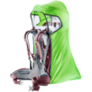 Child carrier accessory  KC Rain Cover Deluxe Green