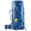 Trekking backpack Aircontact 60+10 SL Blue