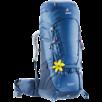 Trekkingrucksack Aircontact 50+10 SL Blau