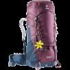 Trekkingrucksack Aircontact 50+10 SL Violett