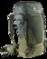 Trekking backpack Futura Air Trek 60+10 Green