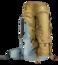 Trekkingrucksack Aircontact 55 + 10  Braun