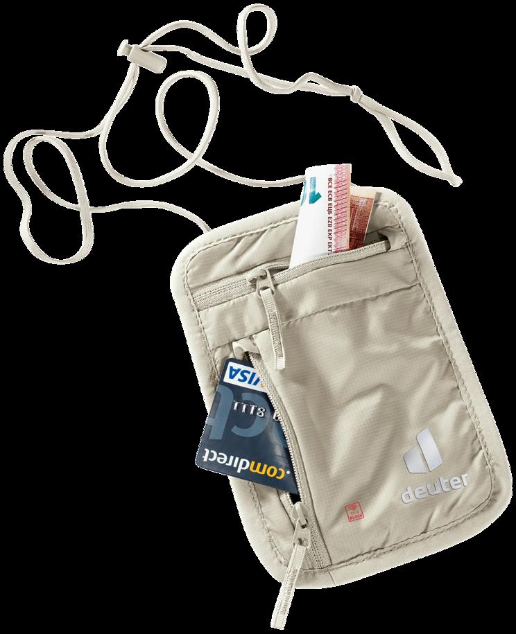 Accessori da viaggio Security Wallet l RFID BLOCK