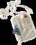 Accessori da viaggio Security Wallet l RFID BLOCK beige