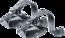 Kindertrage-Zubehör  KC Foot Loops Grau