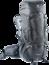 Trekkingrucksack Aircontact PRO 60 + 15  Grau
