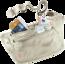 Travel item Security Money Belt ll RFID BLOCK  beige