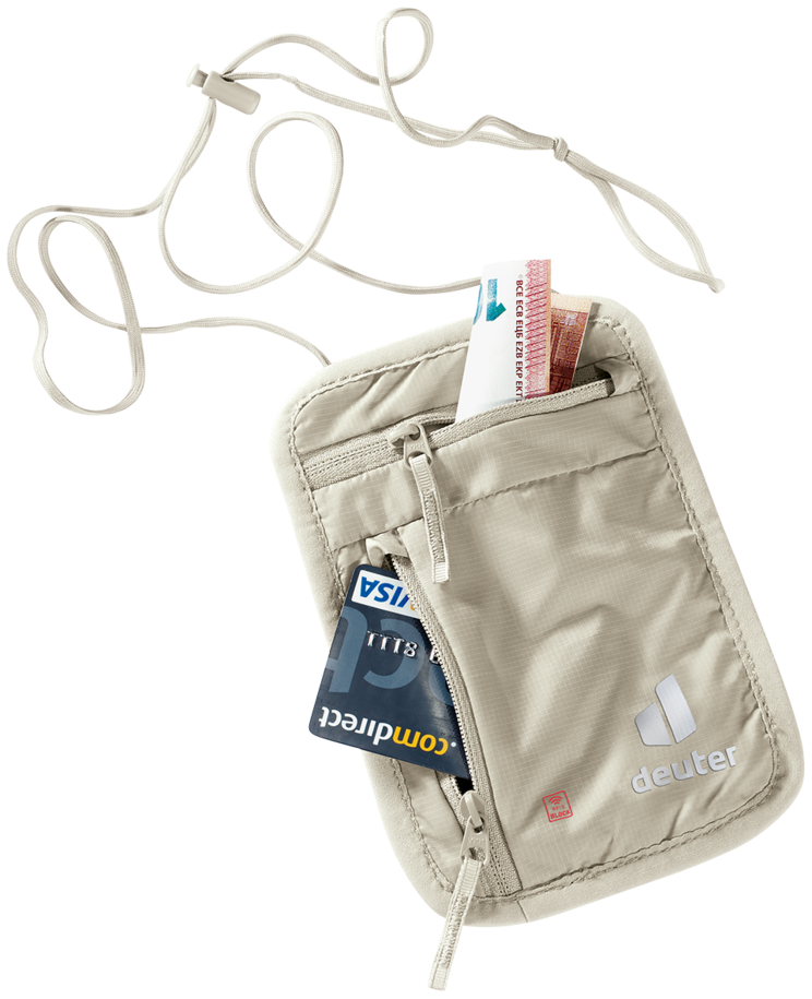 Reiseaccessoire Security Wallet l RFID BLOCK