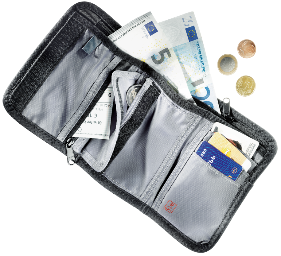 Reiseaccessoire Travel Wallet RFID BLOCK