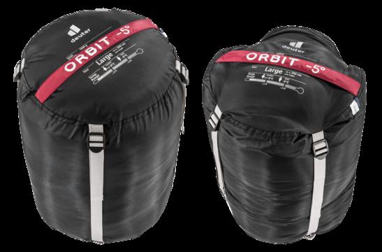 Sac de couchage en fibres synthétiques Orbit -5° L