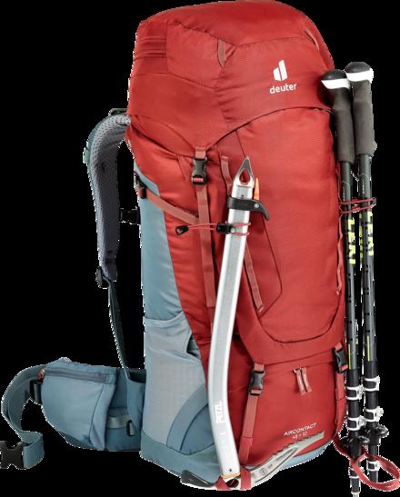 Trekking backpack Aircontact 45 + 10