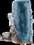 Trekkingrucksack Aircontact PRO 65 + 15 SL Blau