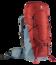 Mochila de trekking Aircontact 45 + 10  Rojo