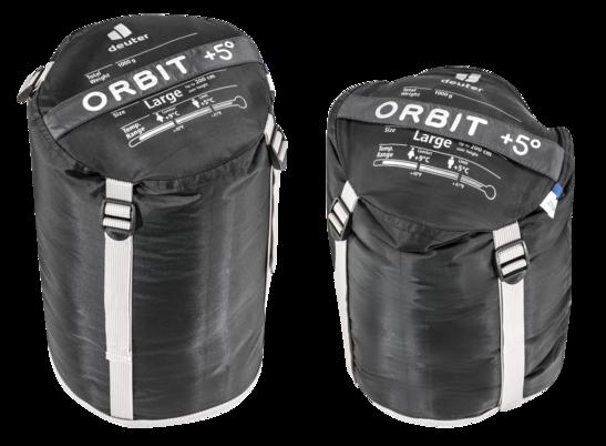 Sac de couchage en fibres synthétiques Orbit +5° L