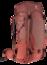 Trekkingrugzak Futura Air Trek 55+10 SL Rood