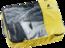 Opbergtas Mesh Zip Pack 10 Geel