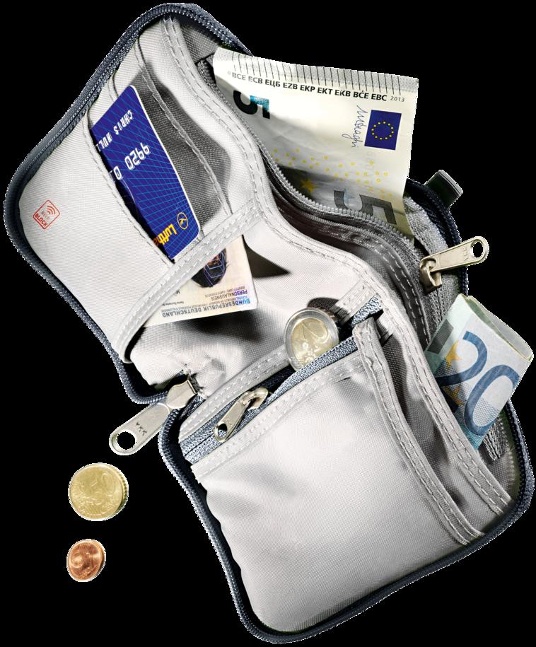 Article de voyage Zip Wallet RFID BLOCK
