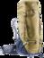 Trekkingrugzak Aircontact PRO 60 + 15  Bruin